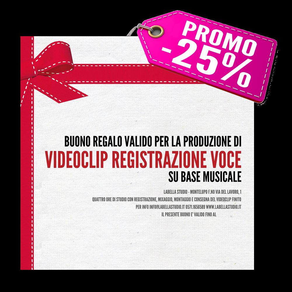 Registrazione Videoclip