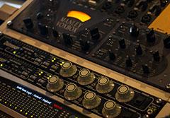 Lo studio di registrazione