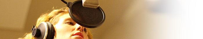 Immagine registrazione vocale su base